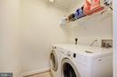 Laundry room on 2nd floor - 7318 EDMONSTON RD, COLLEGE PARK