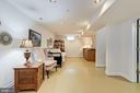 Basement living area/family room - 7318 EDMONSTON RD, COLLEGE PARK