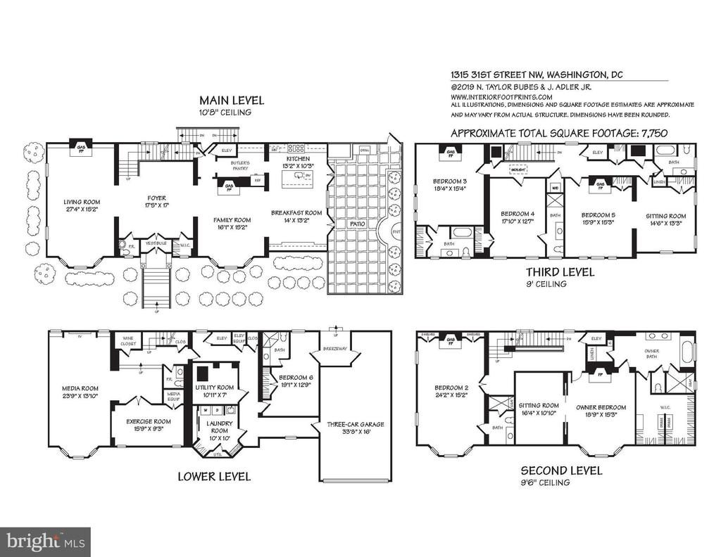 Floor Plans - 1315 31ST ST NW, WASHINGTON