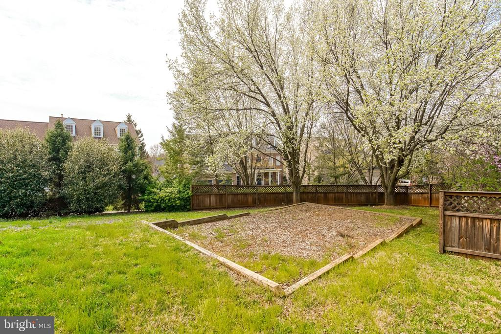 Backyard - 5708 TRAFTON PL, BETHESDA