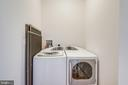Full Size Washer and Dryer in Laundry Room - 19355 CYPRESS RIDGE TER #218, LEESBURG