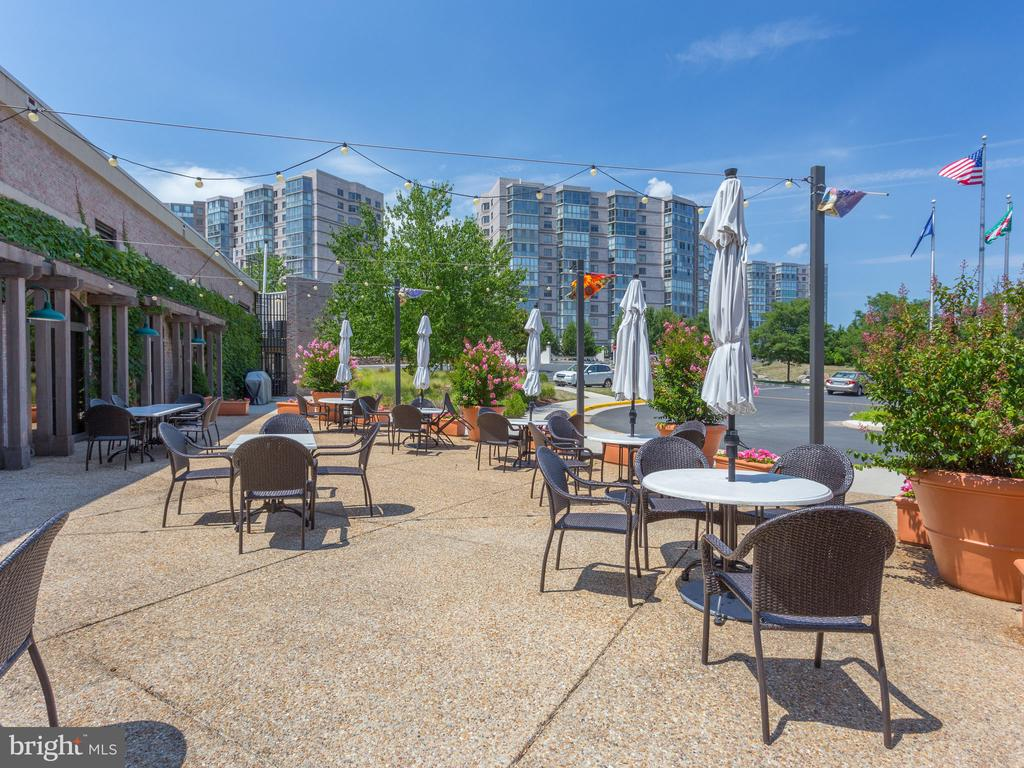 Enjoy Lunch On the Outside Patio - 19355 CYPRESS RIDGE TER #218, LEESBURG