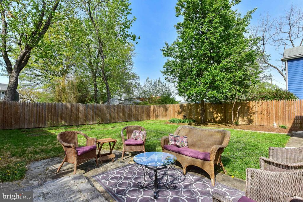 Great space for barbeques and gardening - 210 LAVERNE AVE, ALEXANDRIA