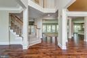 Dramatic foyer with true open concept - 47762 BRAWNER PL, STERLING