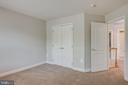 Nice deep closets in secondary bedrooms - 47762 BRAWNER PL, STERLING