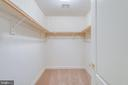 One of two walk in closets - 47762 BRAWNER PL, STERLING