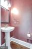 It's a powder room- privately placed - 47762 BRAWNER PL, STERLING