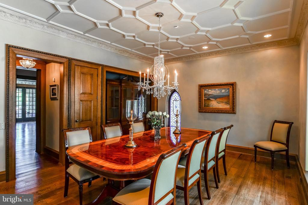 Formal dining room - off of the kitchen - 869 CHILDS POINT RD, ANNAPOLIS