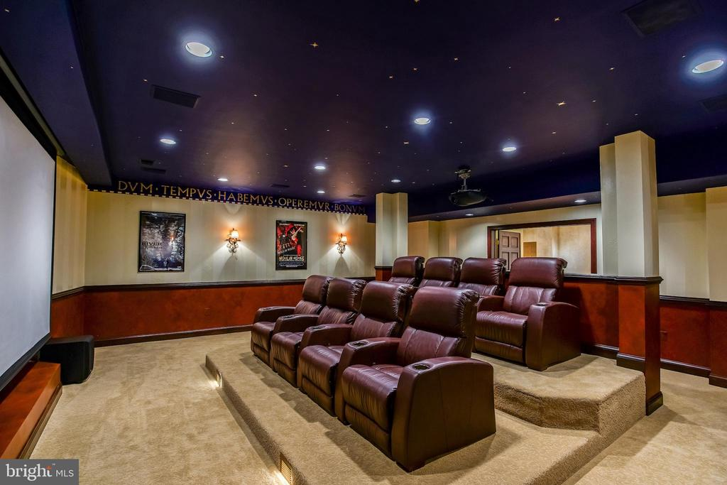 Basement theater - 869 CHILDS POINT RD, ANNAPOLIS