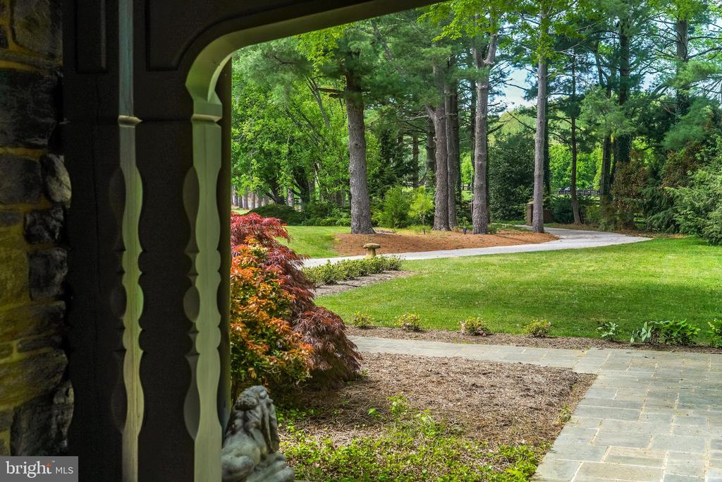 View from the front door - 869 CHILDS POINT RD, ANNAPOLIS