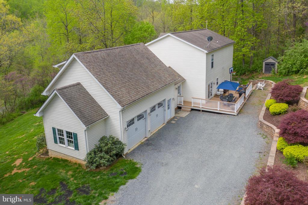 2 car garage and plenty of parking. - 38834 LIME KILN RD, LEESBURG