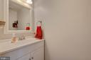 Main level half-bath - 9637 LAMBETH CT, COLUMBIA