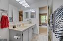 Upper level full bath - 9637 LAMBETH CT, COLUMBIA