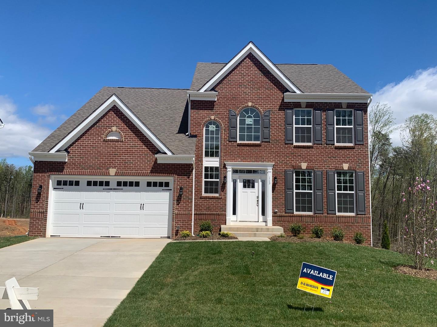 Single Family for Sale at 111 Old Oaks Ct Stafford, Virginia 22554 United States