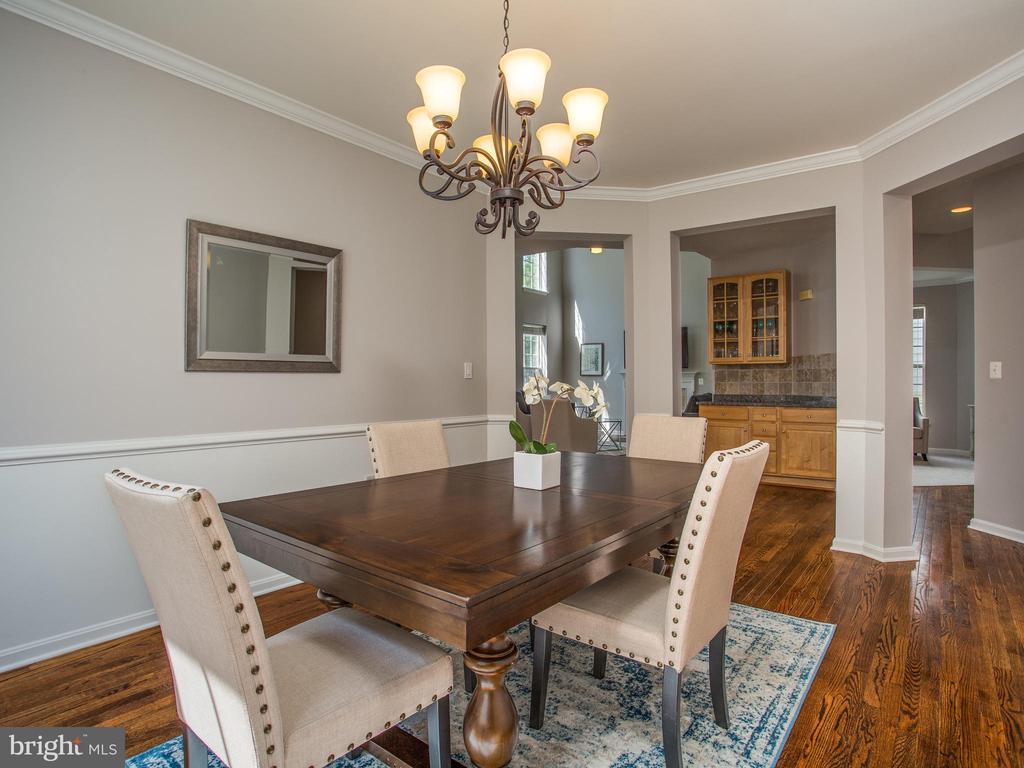 Dining Room - 325 SENATE CT, HERNDON