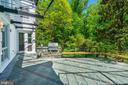 Rear patio - 4101 LINNEAN AVE NW, WASHINGTON