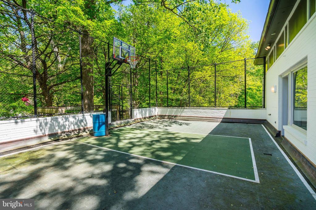 Sport court - 4101 LINNEAN AVE NW, WASHINGTON