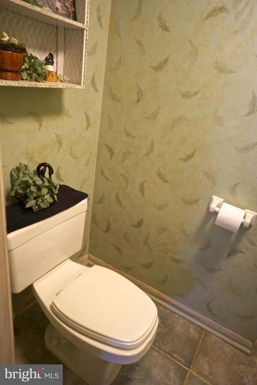 Hall half bath. - 3970 PANHANDLE RD, FRONT ROYAL