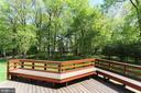 Rear Deck - 6201 POINDEXTER LN, NORTH BETHESDA