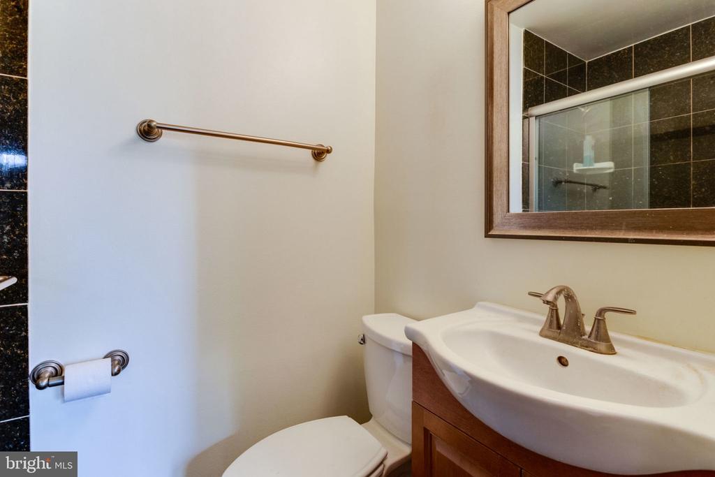 en-suite master bathroom - 5523 BOUFFANT BLVD, ALEXANDRIA