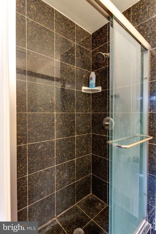 master bath stand up shower - 5523 BOUFFANT BLVD, ALEXANDRIA