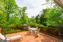 spacious deck off of dining room - 5523 BOUFFANT BLVD, ALEXANDRIA