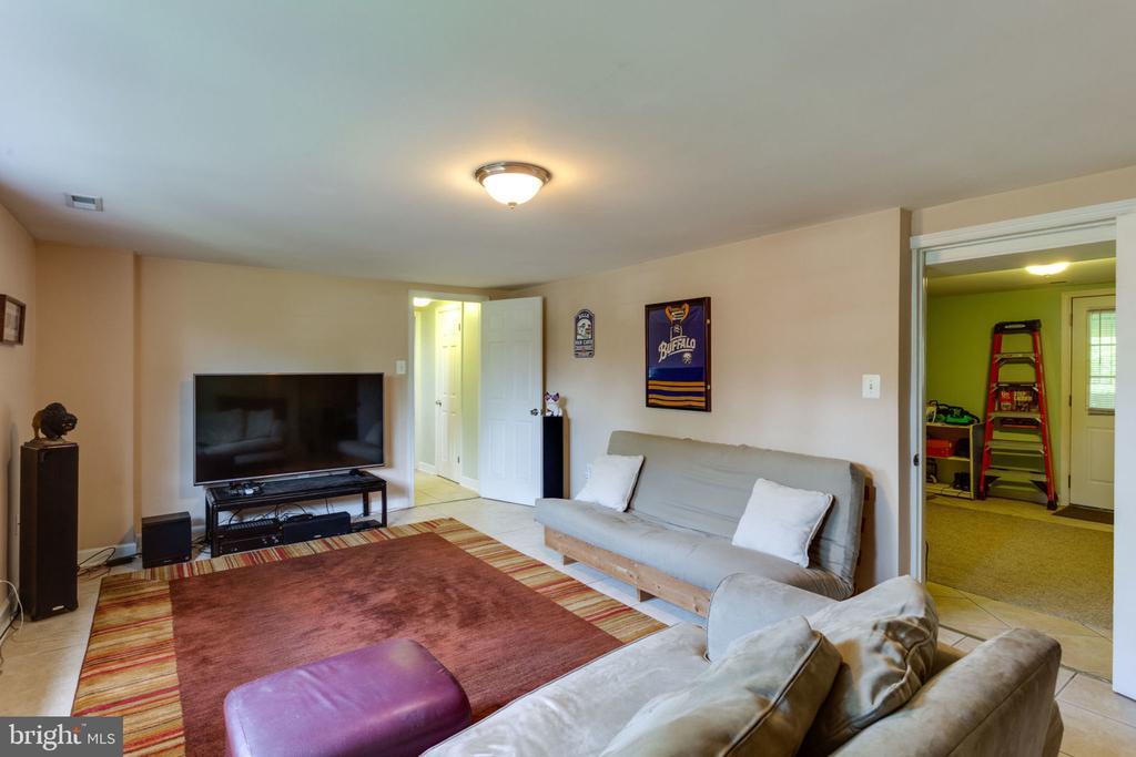 lower level living space - 5523 BOUFFANT BLVD, ALEXANDRIA