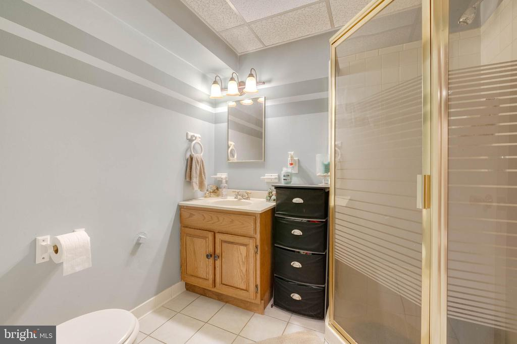 Basement full bath - 9637 LAMBETH CT, COLUMBIA