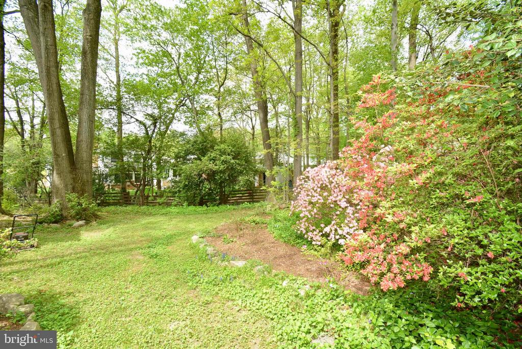 Gorgeous grounds - 3634 CAMELOT DR, ANNANDALE