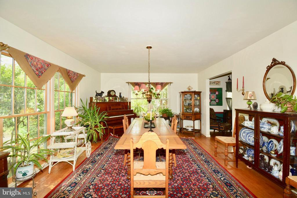 Large windows provide excellent natural light - 3634 CAMELOT DR, ANNANDALE