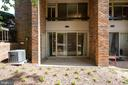 Private patio area - 658 15TH ST S #A, ARLINGTON