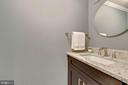 Powder room off living room - 658 15TH ST S #A, ARLINGTON