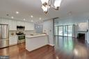 Beautiful renovated kitchen with hardwood floors - 658 15TH ST S #A, ARLINGTON