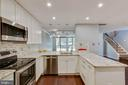 Beautiful renovated bright kitchen - 658 15TH ST S #A, ARLINGTON