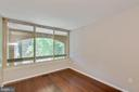Second bedroom upstairs with hardwoods - 658 15TH ST S #A, ARLINGTON