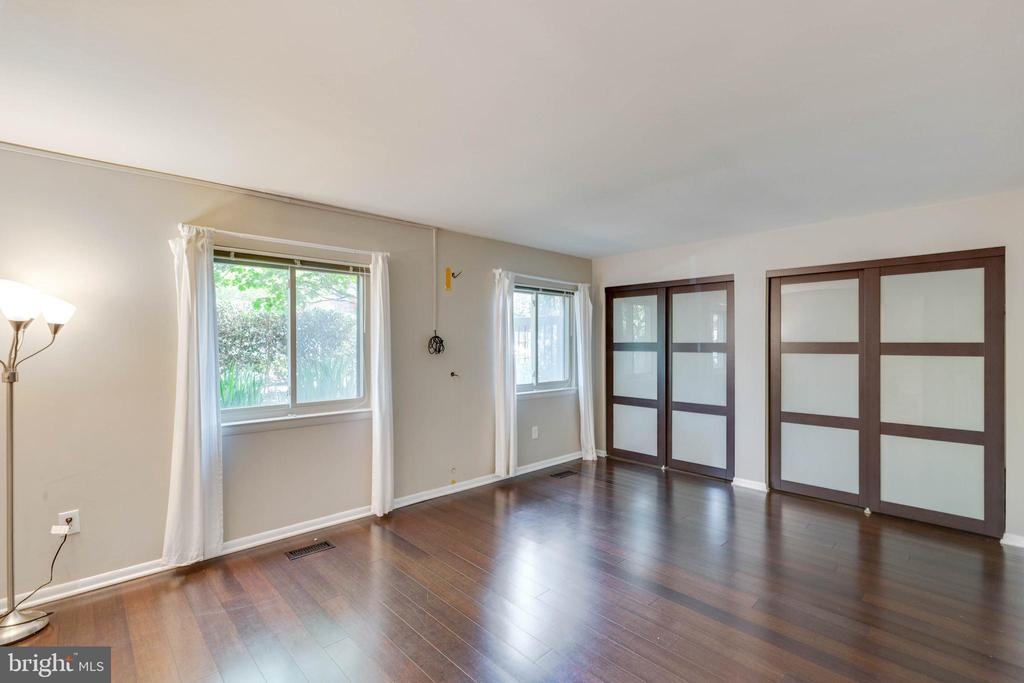 Master bedroom with double closets. - 658 15TH ST S #A, ARLINGTON
