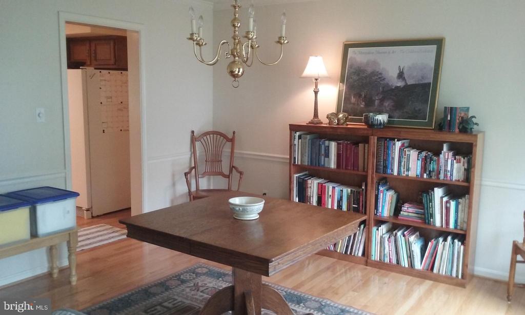 Dining Room - 13704 STONEHUNT CT, CLIFTON