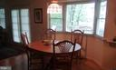 Eat-in area off kitchen - 13704 STONEHUNT CT, CLIFTON