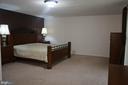 Lower Level Bedroom - 1406 WASHINGTON DR, STAFFORD