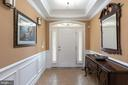 welcoming foyer with tray ceiling, crown molding - 47643 PAULSEN SQ, STERLING