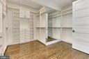 Master closet - 3036 N POLLARD ST N, ARLINGTON