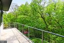 Balcony / master bedroom - 3036 N POLLARD ST N, ARLINGTON