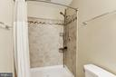 Full bath in lower level - 43345 NICKLAUS LN, CHANTILLY