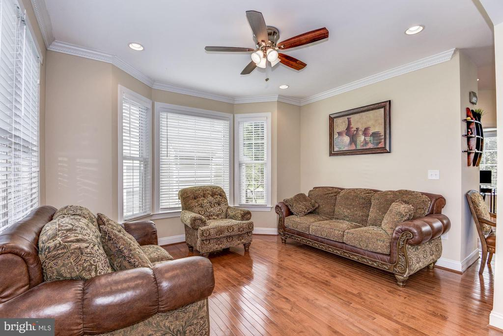 Living room or conversation area - 43345 NICKLAUS LN, CHANTILLY