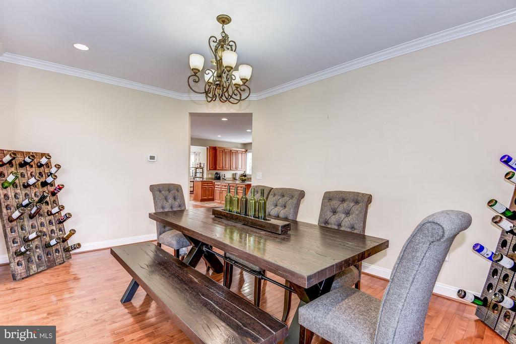 Formal dining room - 43345 NICKLAUS LN, CHANTILLY