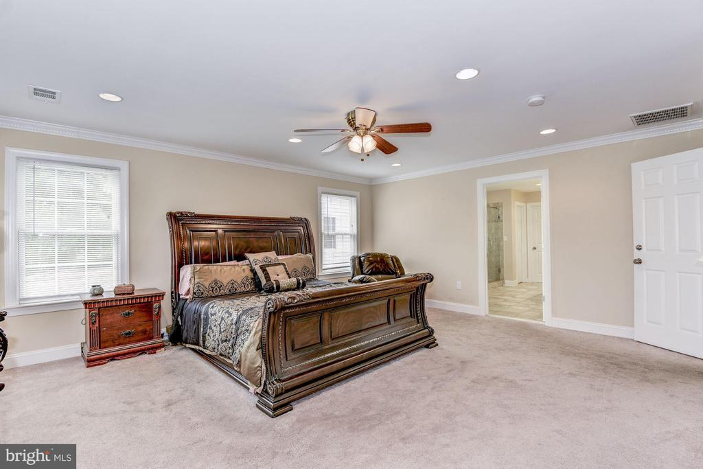 Humongous master bedroom - 43345 NICKLAUS LN, CHANTILLY