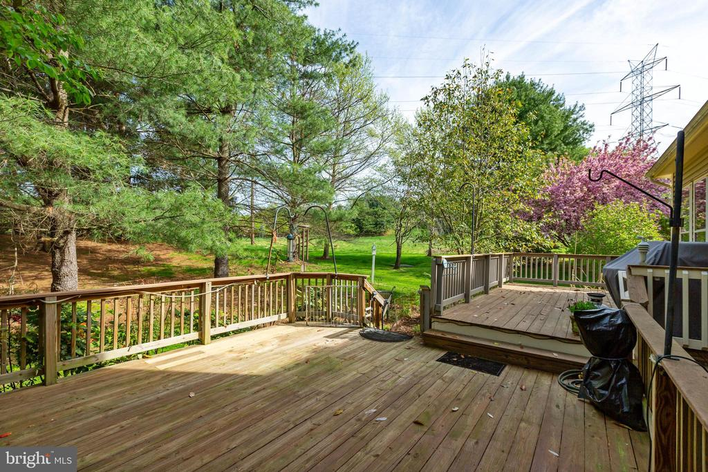 Deck from Family Room - 8237 GALLERY CT, MONTGOMERY VILLAGE