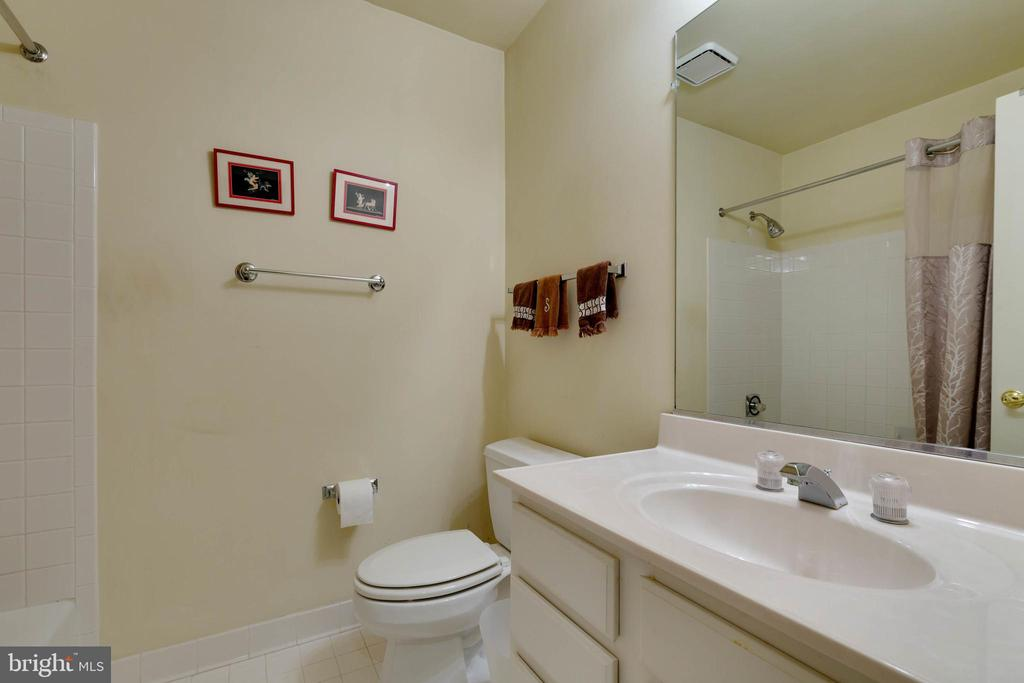 Lower Level Full Bath - 8237 GALLERY CT, MONTGOMERY VILLAGE