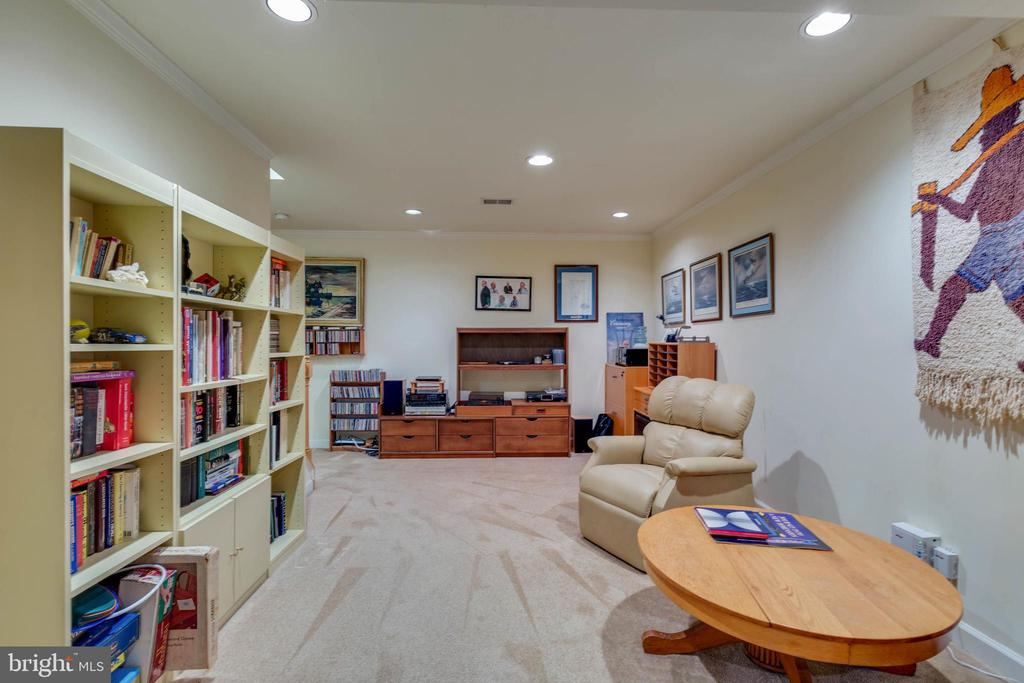 Fully Finished Lower Level - 8237 GALLERY CT, MONTGOMERY VILLAGE