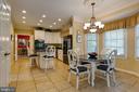 Kitchen and sitting Area - 8237 GALLERY CT, MONTGOMERY VILLAGE